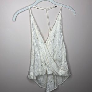 URBAN OUTFITTERS SPARKLE TANK TOP